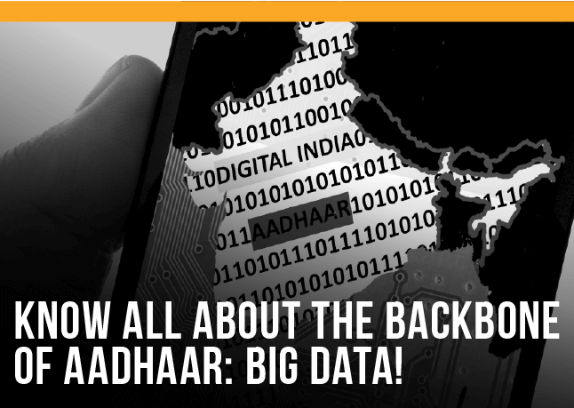 Know all about the backbone of Aadhaar: Big Data!